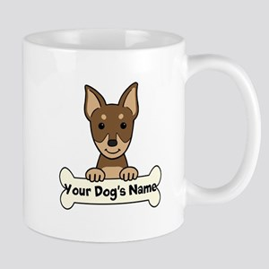 Personalized Min Pin Mug